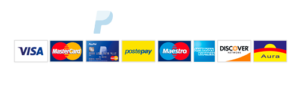 Pagamenti Sicuri con Paypal e Carte di Credito